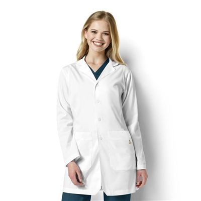 WonderWink NEXT Women's Bristol Stylized Collar Lab Coat
