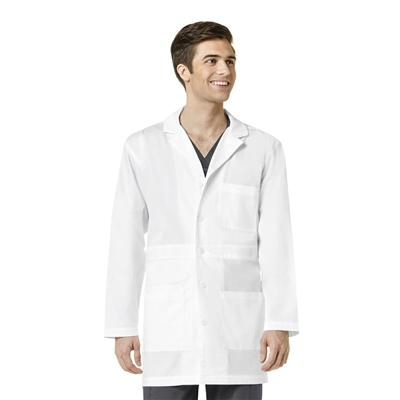 WonderWink WonderWORK Men's Basic Lab Coat by WonderWink