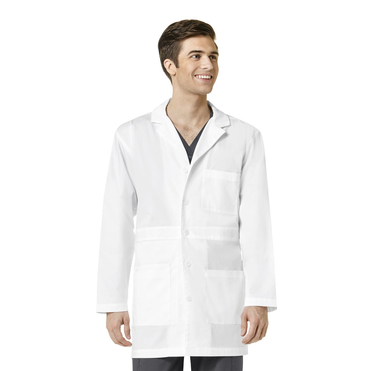 1415c21d777 WonderWink WonderWORK Men's Basic Lab Coat · View Larger Photo