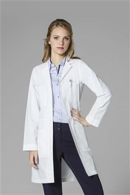 WonderWink Women's Professional Coat  in White by WonderWink