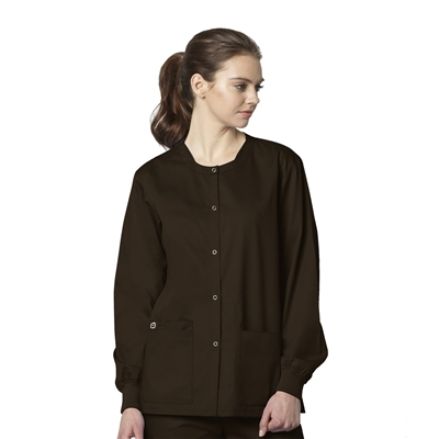 Unisex Snap Front Jacket by WonderWink