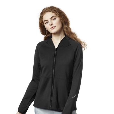 WonderWink Women's Fleece Full Zip Jacket