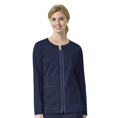 WonderWink 7 FLEX Women's Zip-Front Jacket