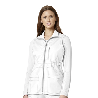 WonderWink WonderFLEX Women's Utility Zip Fashion Vest
