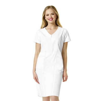 WonderWink Origins The Whiskey Women's Partial Zip Front Dress