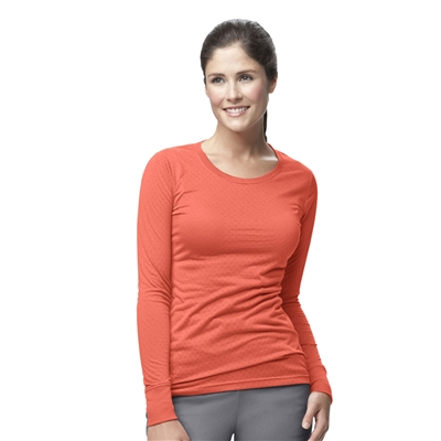 Carhartt Women's Long Sleeve Burn-Out Tee