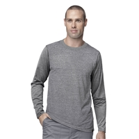Carhartt Men's Work-Dry Long Sleeve Tee in Heather