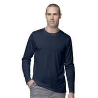 Carhartt Men's Work-Dry Long Sleeve Tee in Navy