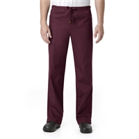 Carhartt Women's Premium Full Drawstring Pull On Pant in Wine
