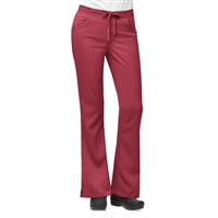 Carhartt Women's Work-Flex 3 Pocket Flare Leg Pant in Cardinal