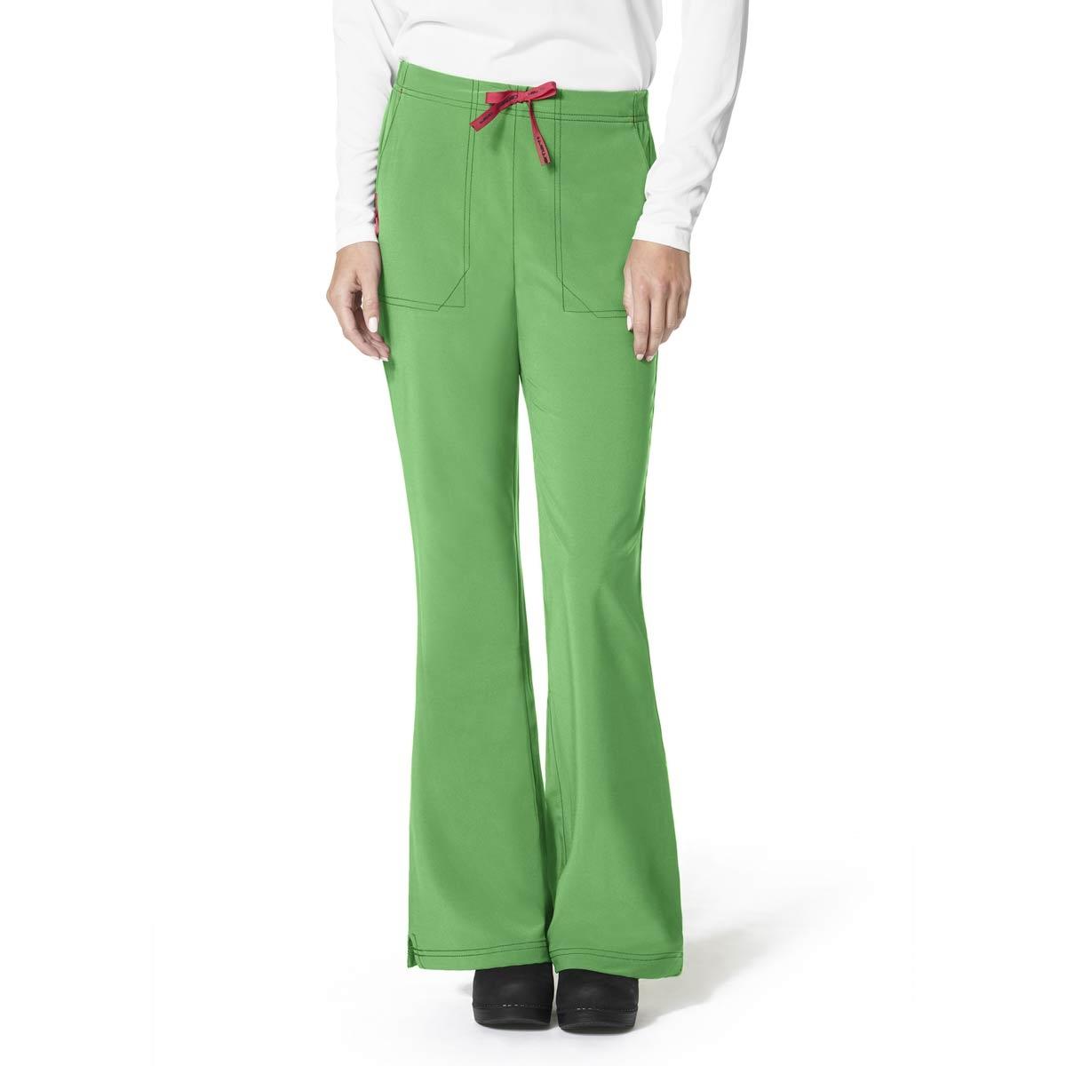 e75a389e793 Cross-Flex Scrub Pants For Women In Flat Front Flare Leg