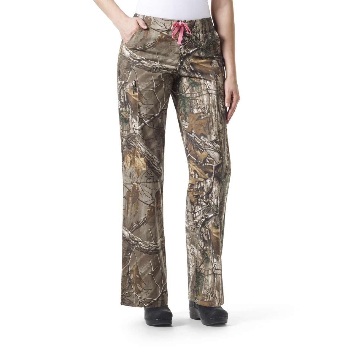 49e64d190de Camo Scrub Pants For Women Carhartt Realtree Utility Boot Cut