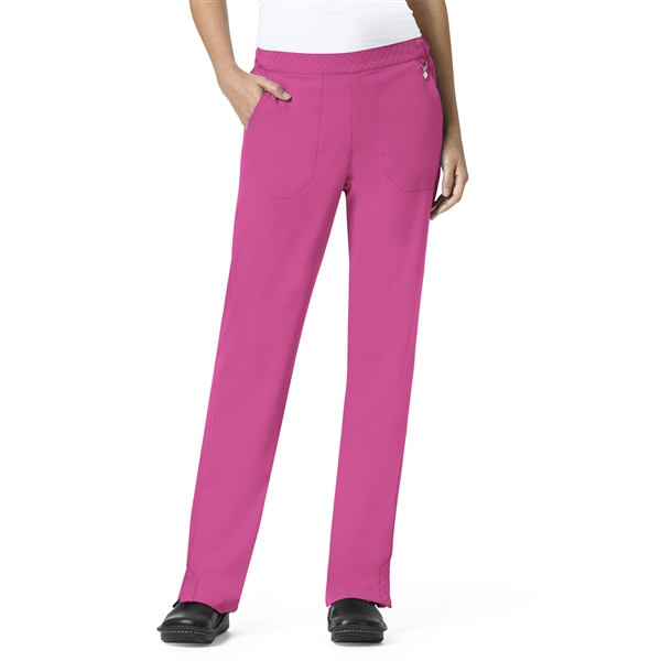 Matilde Elastic Waist Band Pant in Pretty Pink