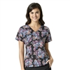Heritage Paisley V-Neck Print Top