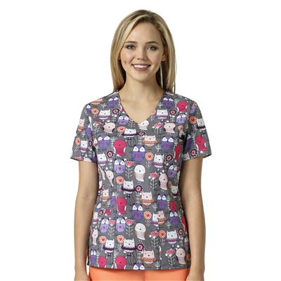 Zoe + Chloe Forrest Friends Print Top