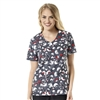 Zoe + Chloe Love Birds Print Top