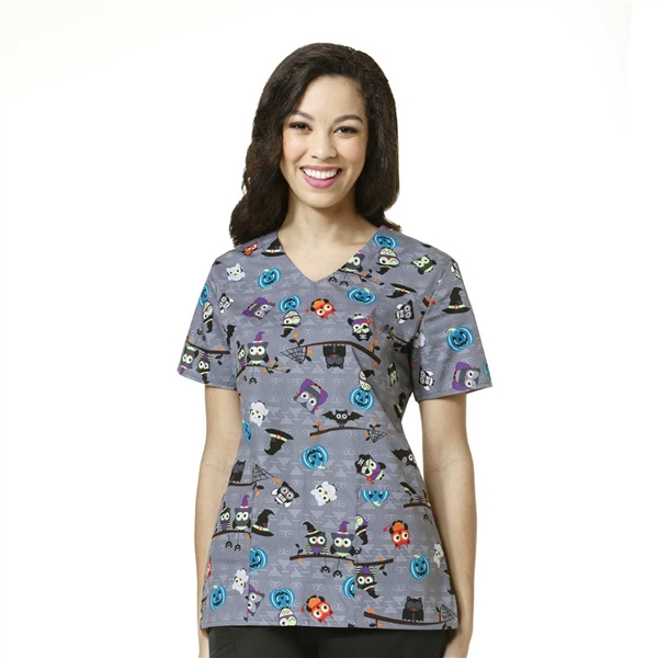 Zoe + Chloe Owl Be Scared Print Top