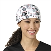 Zoe + Chloe Meet My Friends Printed Scrub Cap