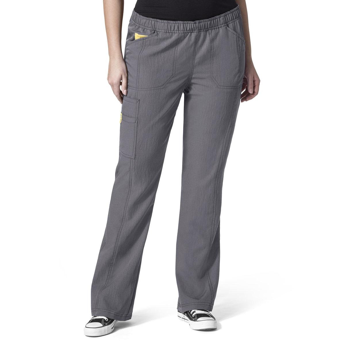 df5b58b58dac8 Plus-Size Boot Cut Cargo Scrub Pants For Women, Sizes Up To 5X - WonderWink  Scrubs