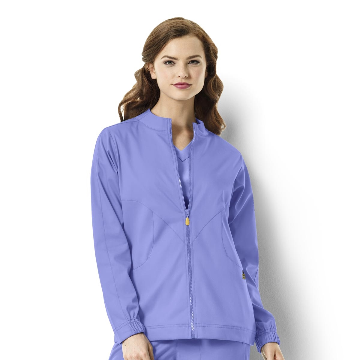 d3fb03e11e0 Zip-Front Warm-Up Jacket Next Boston Women's Jacket - WonderWink Scrubs