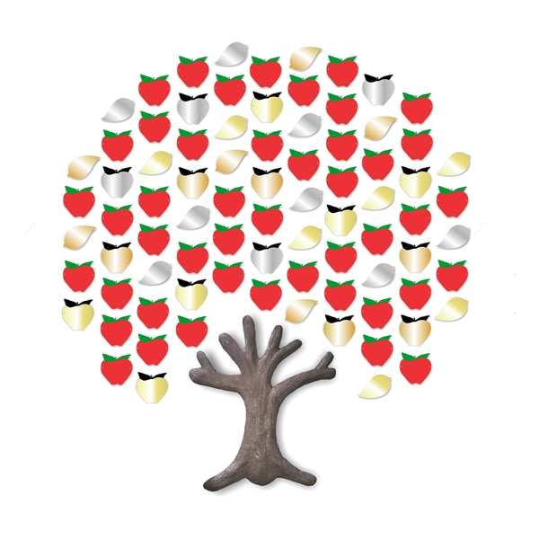 Expanding Apple Tree (83 apples)