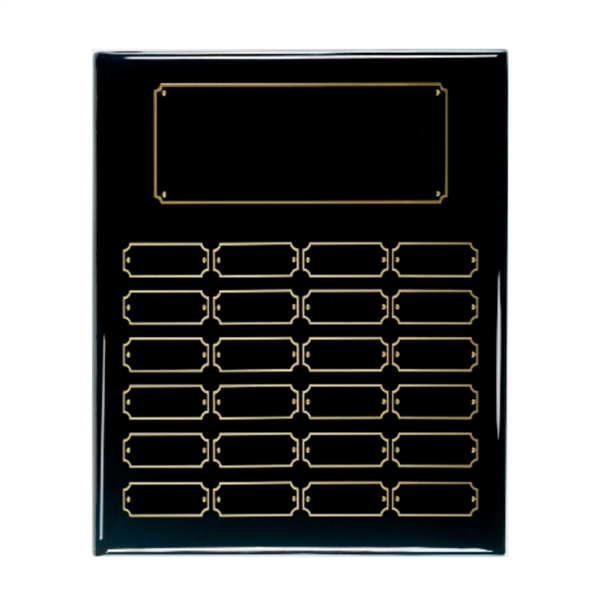 Black Piano Finish Perpetual Plaque