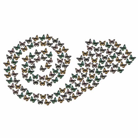 Expanding Donor Butterfly Wall (150 butterfly)