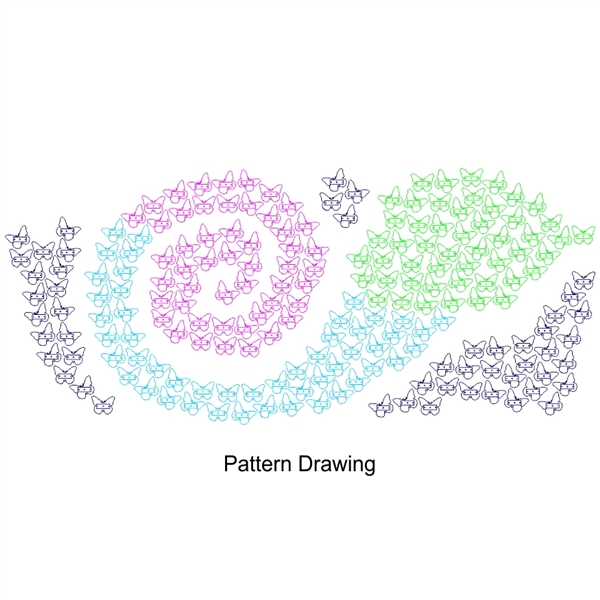 Expanding Donor Butterfly Wall (200 butterfly)