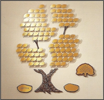 The Growing Tree 100 (Donor Recognition Tree)