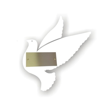 Dove Recognition Plaque Accessory