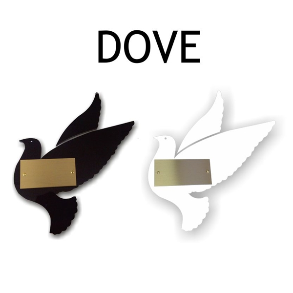 Imprinting or Engraving Service for a Donor Tree Dove