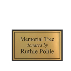 Donor Tree Plaque