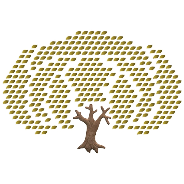 Expanding Solo-leaf Tree (354 leaves)