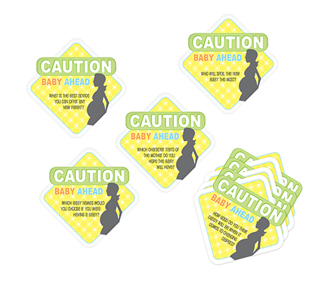 Baby Shower Decor Coasters