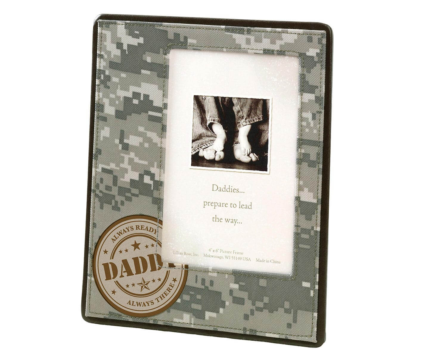 Frames camouflage baby picture frame for dad jeuxipadfo Choice Image
