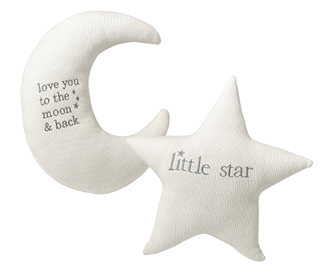 Star and Moon Pillow Set