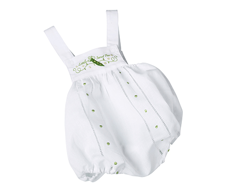 Newborn Baby Outfit Romper Sweet Pea