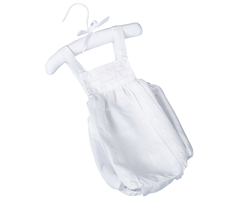 Newborn Baby Outfit Romper White