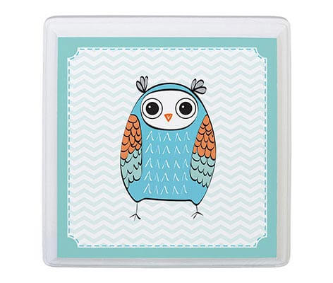 Baby Boy Room Decor Sign Blue Owl Animal