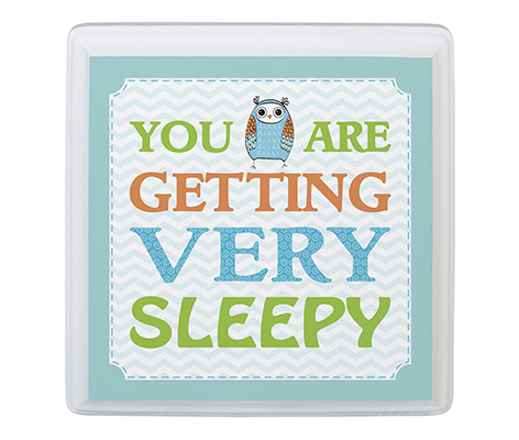 Baby Room Decor Sign You Are Sleepy Blue