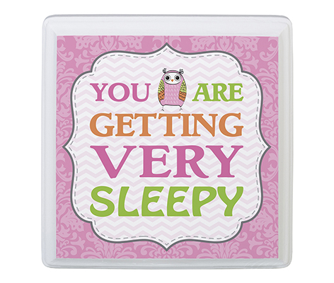 Baby Room Decor Sign You Are Sleepy Pink