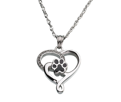 Pet Forever by My Side Memorial Necklace
