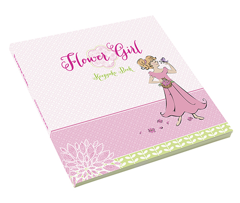 Flower Girl Keepsake Book Wedding Party Gift