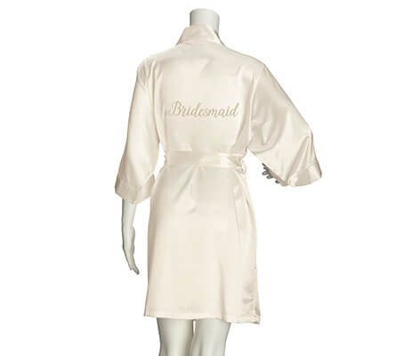 Bridesmaid Satin Robe - Available 3 Colors