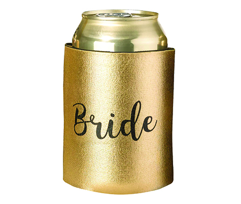 Gold and Black Bride Cozy