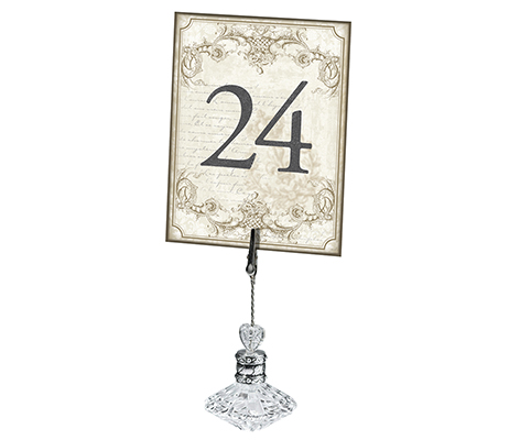 Gold Wedding Reception Table Number Cards