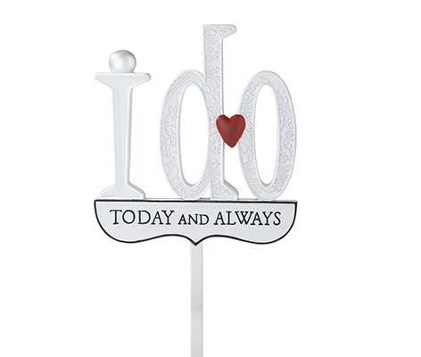 I Do Wedding Cake Topper