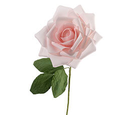 "10"" Pink Rose Decoration"