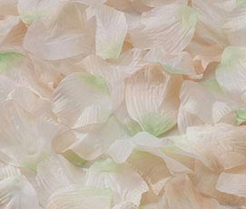 Wedding Decor Silk Flower Girl Rose Petals Ivory