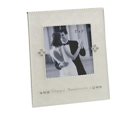 Anniversary Gift Picture Frame 3x3 Decor